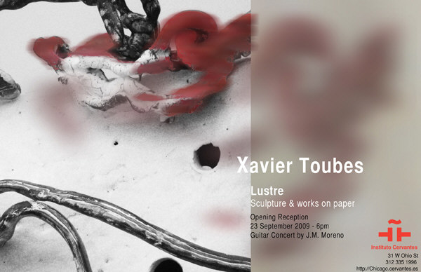 Xavier Toubes | Ir al evento: 'Lustre'. Exposición en Instituto Cervantes - Chicago / Illinois, Estados Unidos