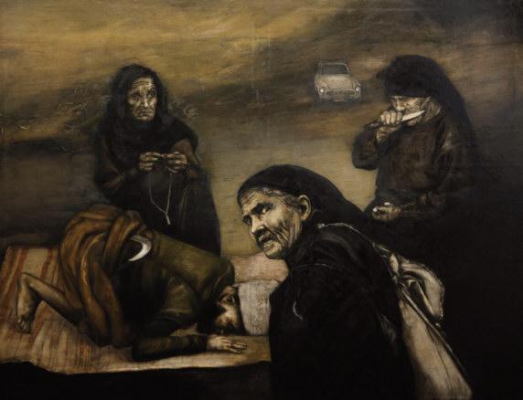 Ara Mikaelian -2 | Ir al evento: 'Mikaelian. Armenia, Retorno de los ausentes'. Exposición en Museu d'Art de Girona / Girona, España