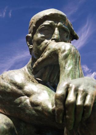 Auguste Rodin, El Pensador, gran modelo, 1903