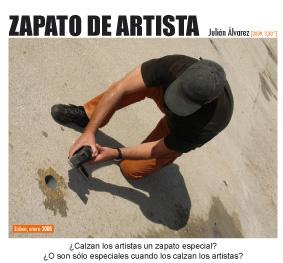Julián Álvarez, Zapato de artista