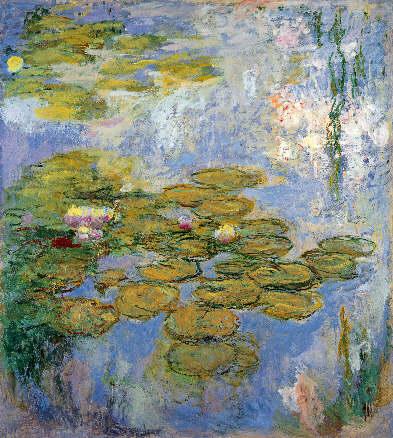 Claude Monet, Nenúfares, 1916-1919