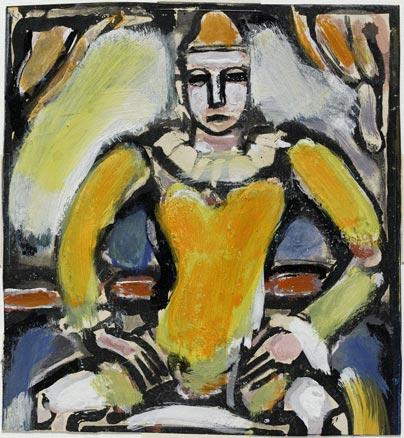 Vitreaux   ... Georges_Rouault,_Enfant_de_la_balle,_h._1935