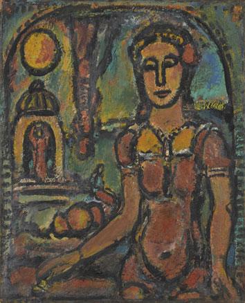 Georges Rouault, La petite magicienne, 1939-1949