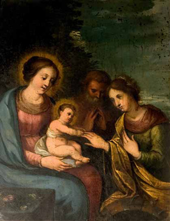 Pedro José de Uceda, Nacimiento de Cristo, s. XVIII