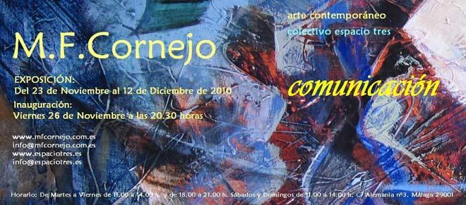 M.F Cornejo, Comunicación
