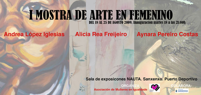 I Mostra de Arte en Femenino