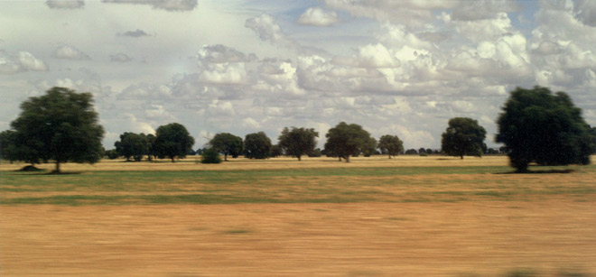 Manu Alarcón Bisbal, Viaje en tren por campos de Castilla, 2010