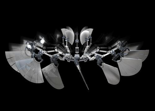 john baugh. escultura digital cinética