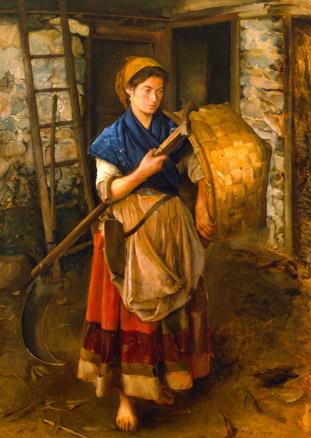 Pintura asturiana del siglo xix en el museo de bellas - Pintores en asturias ...