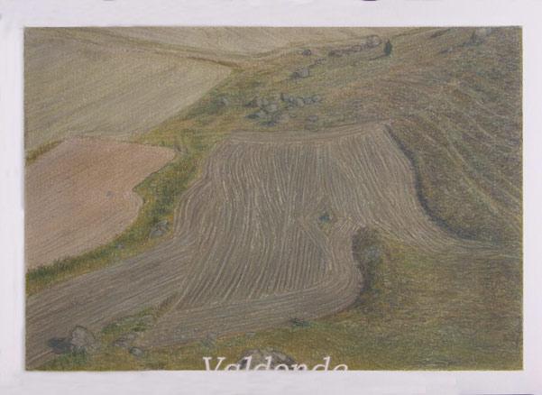 Julián Valle, La piel como un río -Valdonde-, 2011