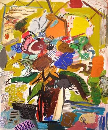 Merello exposici n pintura nov 2011 arteinformado - Cuadros modernos valencia ...