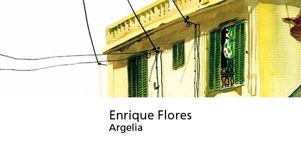 Enrique Flores, Argelia