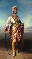 Franz Xaver Winterhalter, Maharaja Dalip Singh