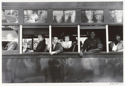 Robert Frank. Tranvía. Nueva Orleans. 1955-1956.