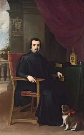 Bartolomé Esteban Murillo, Retrato de Don Justino de Neve, 1665