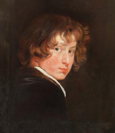 Anton Van Dyck, Autorretrato, 1615. Akademie der bildenen Künste