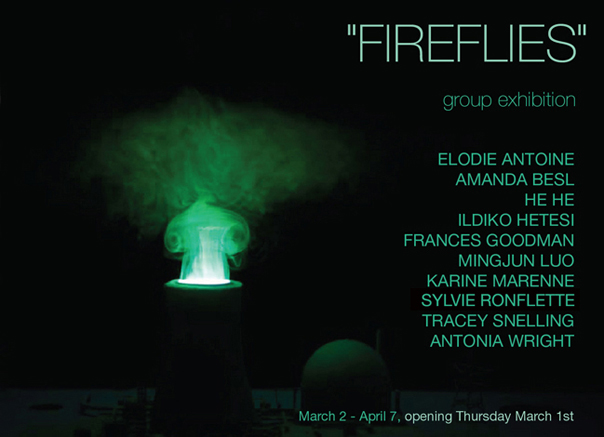 Fireflies - group exhibition