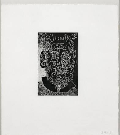 Pablo Picasso, Viejo barbudo con cuello vuelto