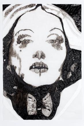 Adriana Molder, de la serie Mad About the Boy, Olhos Brancos, 2011