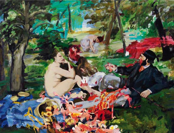 Vicky Neumann, Picnic Fast Food, 2012