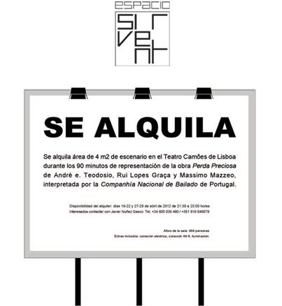 Javier Núñez Gasco, Se alquila