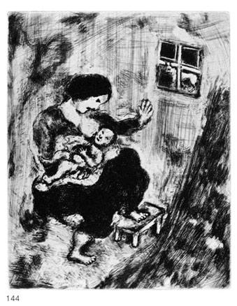 Marc Chagall, Le Loup, la Mère et l´Enfant