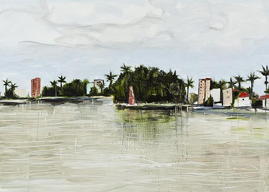 Oleo sobre tela de Ana Prata, de 2012