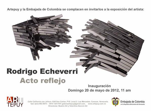 Rodrigo Echeverri, Acto reflejo