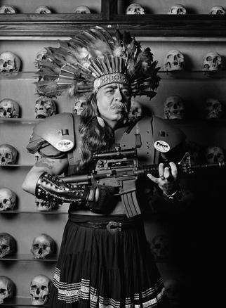 Guillermo Gómez-Peña, En el hall del genocidio