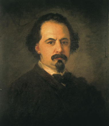Eugenio Lucas Velázquez, Autorretrato, h. 1855-1860