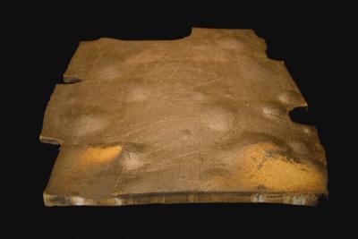José Antonio Sarmiento - Noche en el desierto I, 2007. 45,5x49,5x3,5 cm.