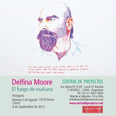 Delfina Moore, El fuego de mañana