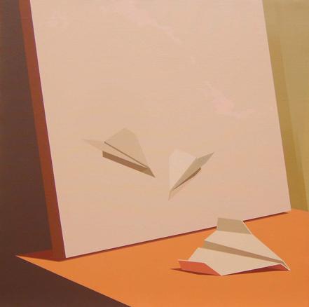 Chema Peralta, Origami y Naturaleza Muerta 2, 2012