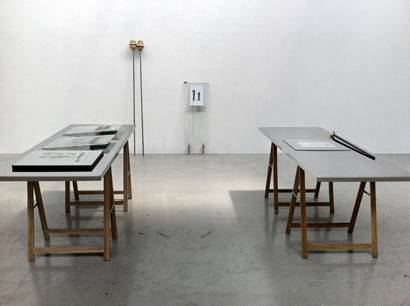 Rafael Forga, Transicions d´un objecte sediciós, Instalación, 2012