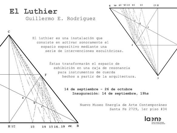 Guillermo E. Rodríguez, El Luthier