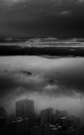 City 1, serie Underland. Lambda print. 145x90 cm. Edición 5  2 PA