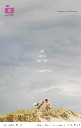 Lola Garcia Garrido, Al desierto