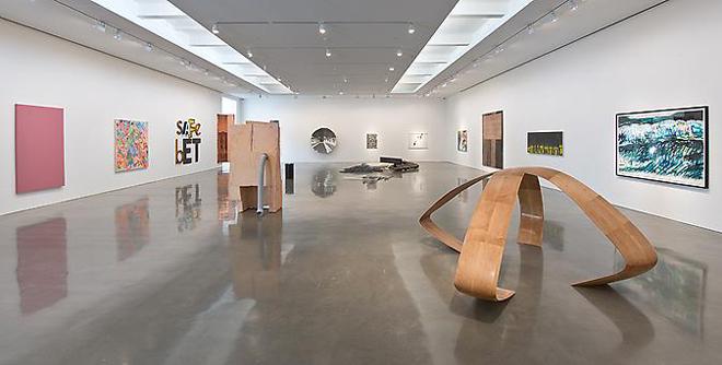 Vista de la exposición inaugural