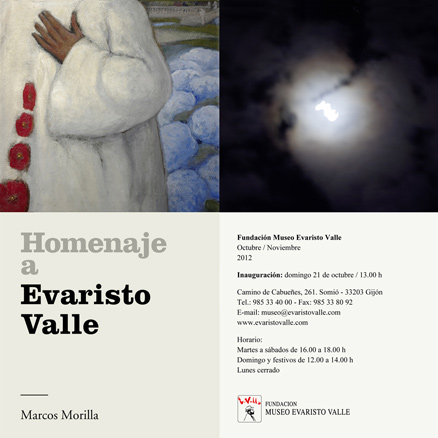 Marcos Morilla, Homenaje a Evaristo Valle