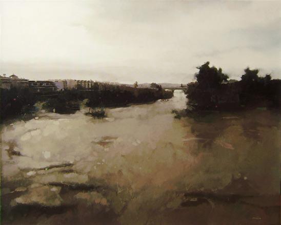 Entornos de agua ii exposici n pintura oct 2012 for Escalera pintor