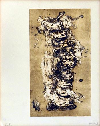 Miquel Barceló, Tasses, 1987