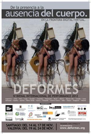 IV Bienal Deformes 2012.