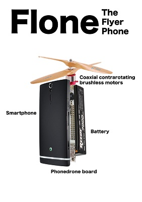 Flone, The Flying Phone