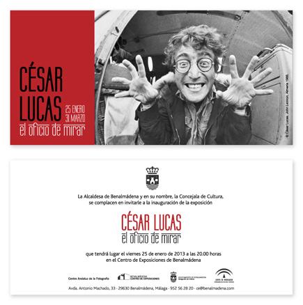 César Lucas, El oficio de mirar