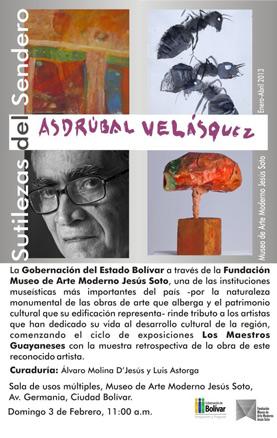Asdrúbal Velásquez, Sutilezas del Sendero