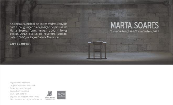 Marta Soares, Torres Vedras, 1992 - Torres Vedras, 2012
