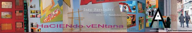 Inés Fernández, Haciendo ventana