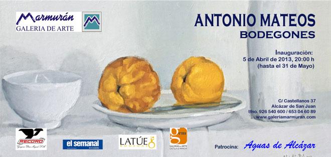 Antonio Mateos. Bodegones