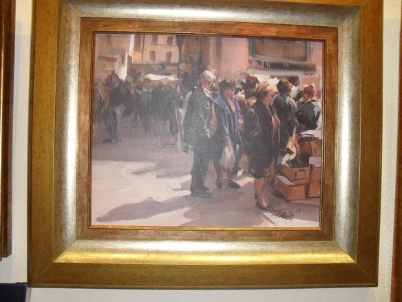 Favila, Mercado | Ir al evento: 'Colectiva'. Exposición de Pintura en Sala de arte Pablo's / Gijón, Asturias, España
