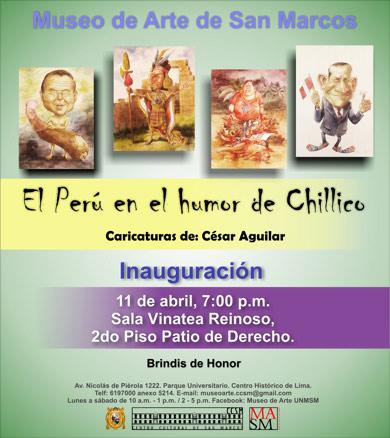 El Perú en el humor de Chillida